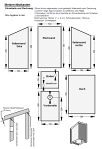 bau anleitung nistkasten. Black Bedroom Furniture Sets. Home Design Ideas